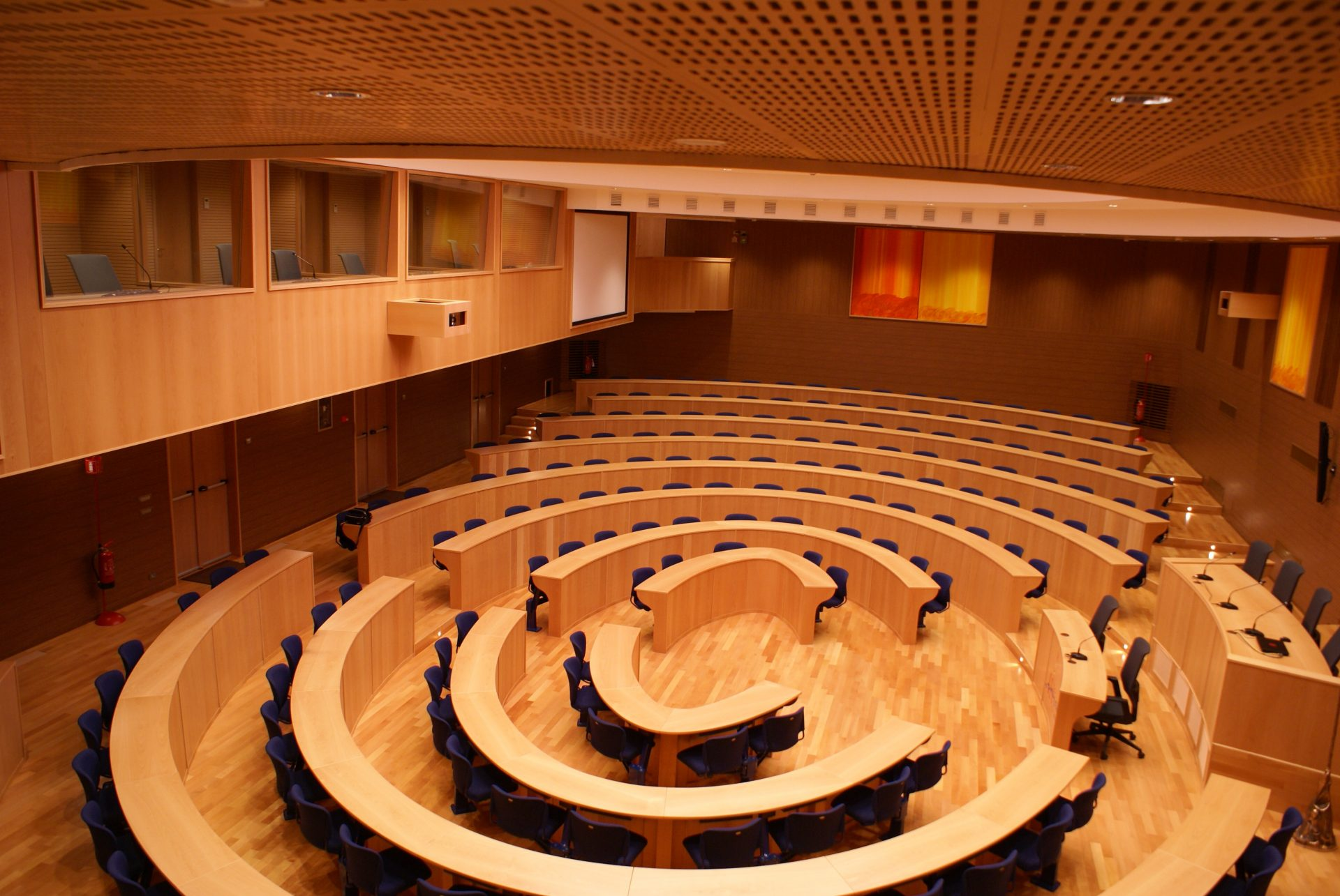 PanelHush Slotted - Acoustic Ceiling System