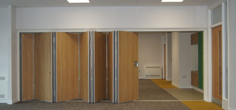 Operable walls at St Mary's School