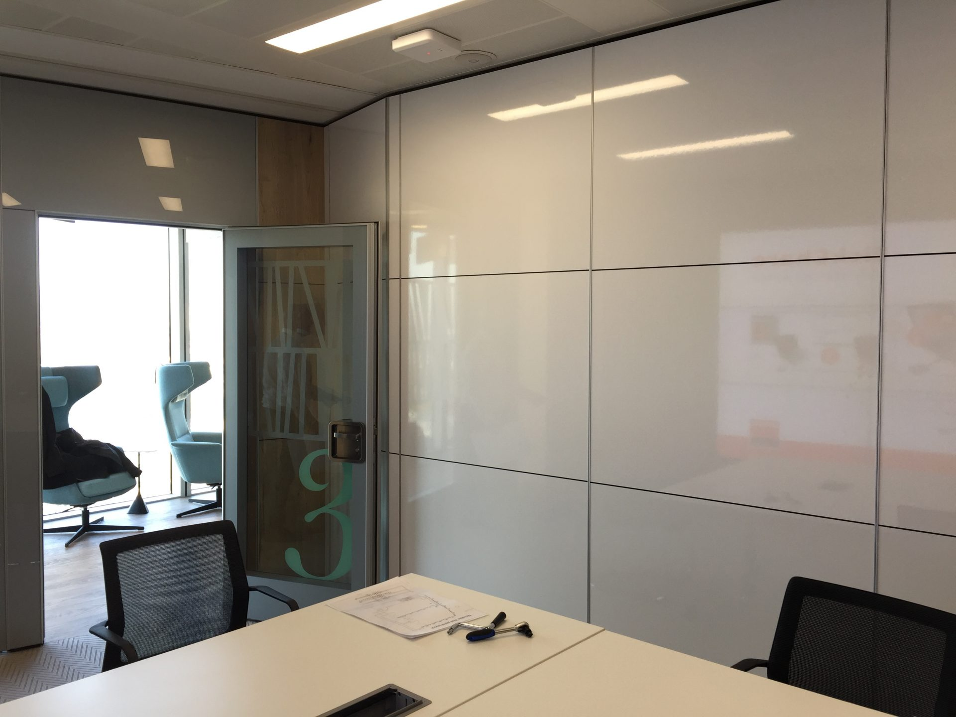 Manchester Office Case Study - Movable Walls