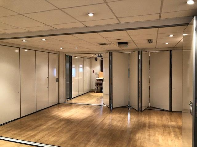 Movable partitions MG200 sliding folding partition