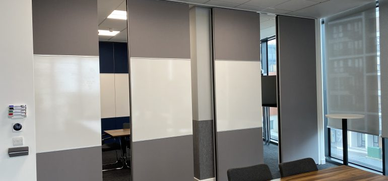 MG100 movable acoustic wall