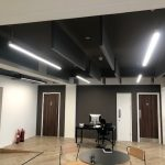 acoustic ceiling rafts