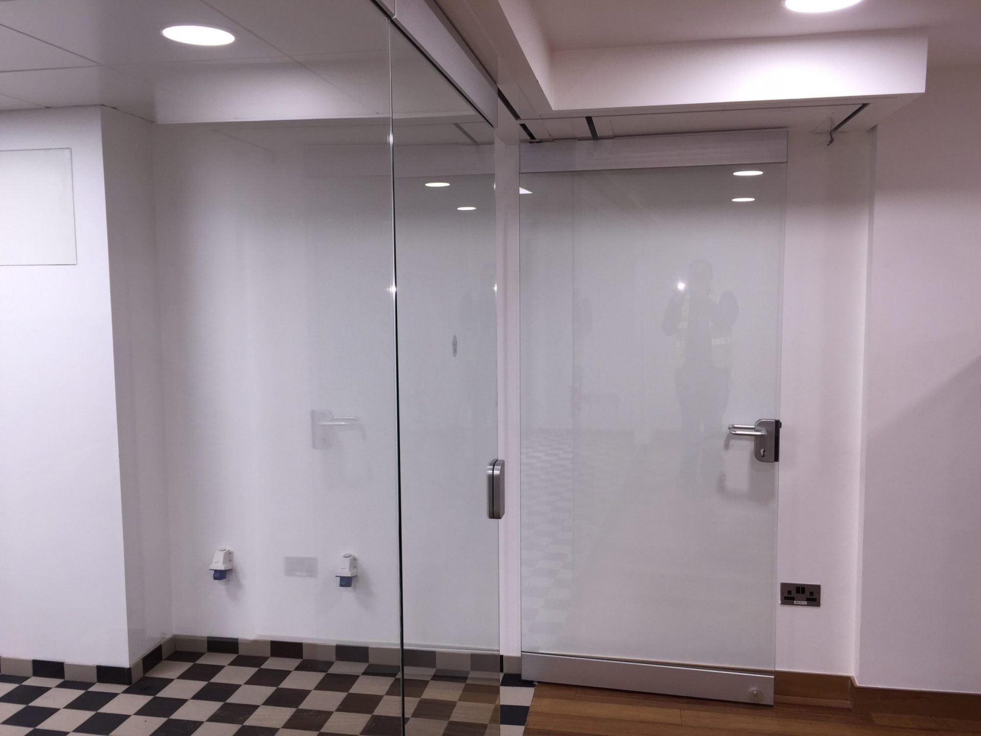 glass sliding wall partitions