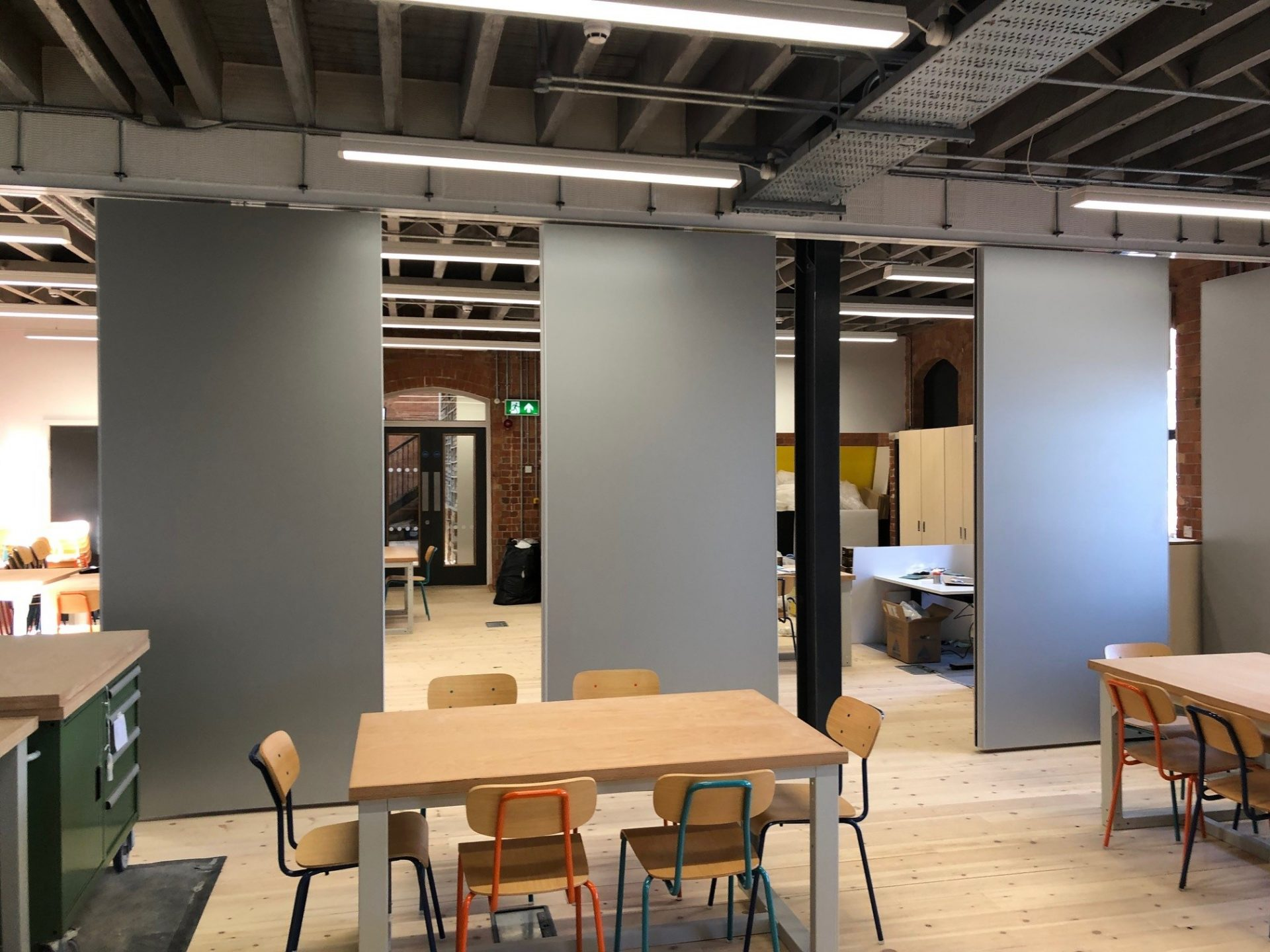 Operable Acoustic Wall